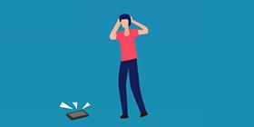 学生因流氓软件掰断手机
